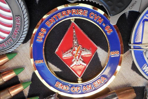 Custom Challenge Coin Of The Month- October