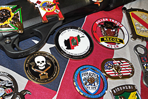 Military Challenge Coin History - Unit Coins